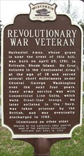 Image for Revolutionary War Veteran Historical Marker