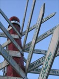 Image for Old Direction Arrows ~ The Big Apple - Colborne, Ontario