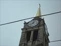 Image for St-Denis Church's  Clock  - Lockport, Illinois