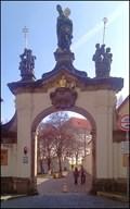 Image for Barokni brana / Baroque Gate, Strahov Monastery, Praha, CZ