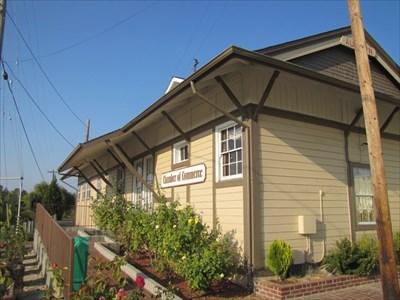 Auburn Depot Corner View, Auburn, CA
