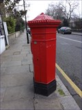 Image for Victorian Pillar Box - St Leonard's Terrace, Chelsea, London, UK