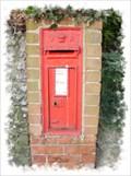 Image for Victorian Post Box - Grams Road, Walmer, Kent, UK