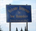 Image for Welcome to New Hampshire, USA