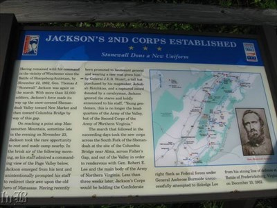 Jackson's 2nd Corps Established: Stonewall Dons a New Uniform