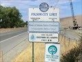 Image for City of Folsom, California Population Sign