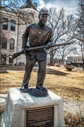 Image for First Kansas Colored Volunteer Infantry Monument – Butler, Missouri