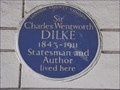 Image for Sir Charles Wentworth Dilke - Sloane Street, London, UK