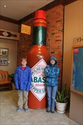 Image for World's largest bottle of Tabasco Sauce - Avery Island LA