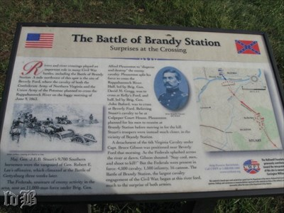 Surprises at the Crossing -- the Union army thought Stuart`s cavalry was at the Culpeper courthouse and the Confederates did not expect enemy forces to cross the river at Beverly`s Ford and scrambled to delay them.