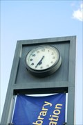 Image for Roxburgh Library Clock — Roxburgh, New Zealand