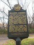 Image for Wallner Gardens historical marker