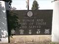 Image for War Memorial - Linden Cemetery - Linden, IN