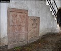 Image for Renaissance epitaph stones in the wall of Cemetery Church of the Most Holy Trinity (Kourim, Central Bohemia)