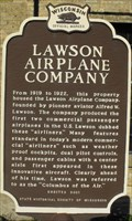 Image for Lawson Airplane Company - South Milwaukee, WI