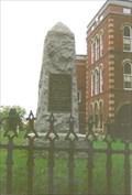 Image for War of Independence Memorial  -  Portland, ME