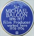 Image for Sir Michael Balcon - Ealing Studios, Ealing Green, London, UK