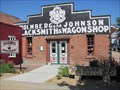 Image for Holmberg and Johnson Blacksmith Shop - Lindsborg, KS