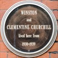 Image for Winston Churchill - Morpeth Terrace, London, UK