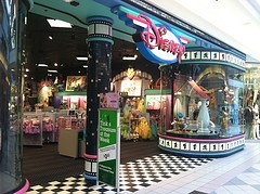 The Disney Store Entrance for The Disney Store at Square One Mall.As of 2011, It was remodled.