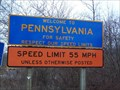 Image for Border Crossing at NY Route 305 and PA Route 446