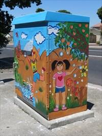 Sunlit Utiltity Box, San Jose, CA