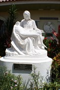 Image for Virgin Mary with Jesus - The Pietà - Venice, FL, US