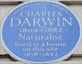 Image for Charles Darwin - Gower Street, London, UK