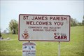 Image for St James Parish Louisiana Welcome Sign