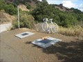 Image for Matt Peterson and Kristy Gough Ghost Bike - Cupertino, CA
