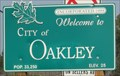 Image for Oakley, CA - Pop.  33,250