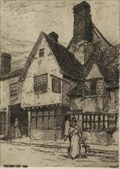 """Image for """"Boot Inn 1889"""" by F L Griggs – ex Boot Inn, Bridge St, Hitchin, Herts, UK"""