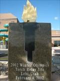 Image for 2002 Winter Olympics Torch Relay Site - Lehi, Utah