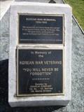 Image for Hillcrest Park Korean War Memorial - Concord, CA