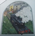 Image for Steam Train Mural - Skibbereen, County Cork, Ireland