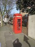 Image for Red Telephone Box - Trinity Street, London, UK