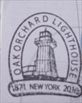 Image for Oak Orchard Lighthouse Stamp - Lake Ontario, Kent, NY