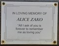 Image for Alice Zako