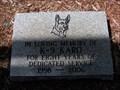 Image for K-9 Karo Police Dog Memorial - Hallandale, Florida