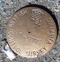 Image for British Columbia Control Survey Marker  90H9772