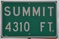 Image for Hurricane Summit ~ Elevation 4310 Feet