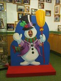 Image for Frosty at Bronner's Christmas Wonderland - Frankenmuth, Michigan