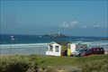 Image for St Ives Bay Cornwall, Godrevy lighthouse