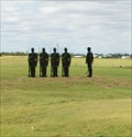 Image for Soldiers standing at attention - Ft Hays Kansas