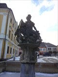 Image for Socha sv.Jirího - Policka, Czech Republic