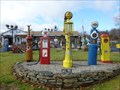 Image for Five Vintage Gasoline Pumps - Cromwell, CT.