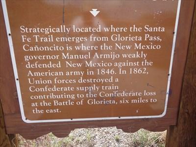 Cañoncito at Apache Canyon - near Santa Fe, New Mexico.