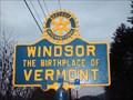 Image for Windsor, VT