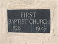 Image for 1926-1949 - First Baptist Church - Martinez, CA