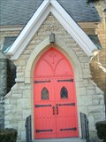 Image for Trinity Episcopal Church Door - Aurora, Illinois